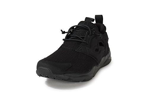 Reebok Furylite, Chaussures de Sport Garçon Noir (Noir / Noir / Noir)