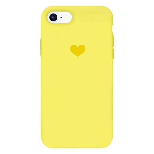 e 6 Hülle Silikon Iphone 6S Schutzhülle Handyhülle Iphone 6 Plus Silikonhülle Herz Motiv schutzschale Iphone 6S Plus Hüllen Tasche Handytasche Weiche Etui (5, 6 Plus/6S Plus) ()