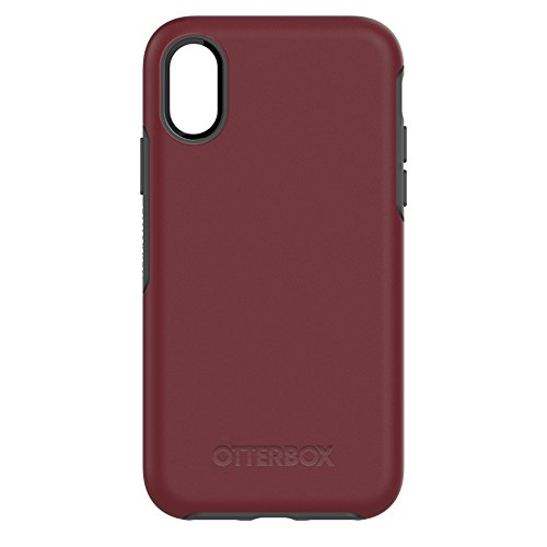 Otterbox Symmetry - Funda protección para iPhone X Fine Port (granate) -...