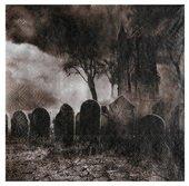 20 Stück Servietten Horror Friedhof, 33 x 33 cm
