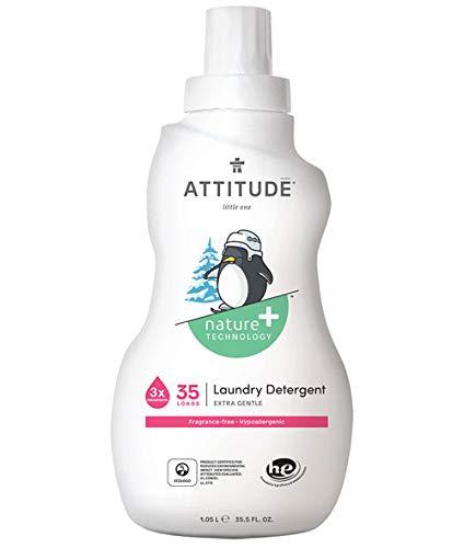 :Attitude Laundry Liquid Little Ones Fragrance Free 1050ml (1 unit)