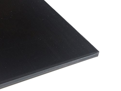 Kunststoffplatte ABS 3mm Schwarz 300 x 200 mm