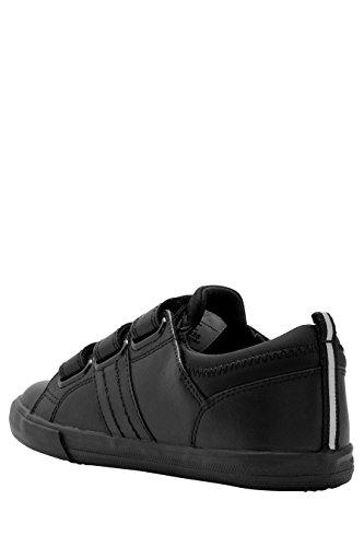 next Standard Fit Chaussures À Triple Bride (Garçon) Noir