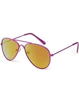 [Sponsorizzato]Kiddus - Occhiali da sole da ragazza, 100% protezione UV400per occhi, ideali per bambini tra 6–12anni, divertenti...