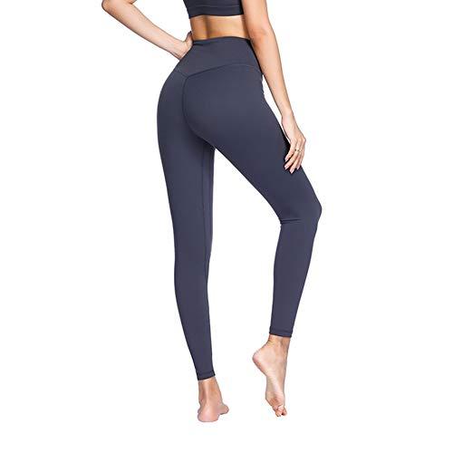 Feidaeu Mujeres Yoga Correr Pantalones Delgados de Secado rápido Esti