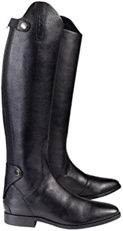 Horze, Stivali da equitazione uomo uomo uomo nero nero 7.5R | Pregevole fattura  bef64f