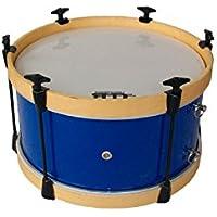 DB Percussion DB4094 - Bombo charanga infantil 35 x 18 cm, color azul