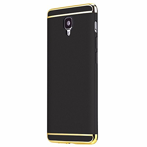 90c609ebf 40% OFF on OnePlus 3 3in1 Hybrid pc Hard Back Cover Electroplating Case For OnePlus  3 Black 1+3 One Plus Three on Amazon