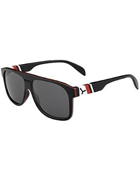 Cebe Gafas de Sol Chicago, Unisex, Chicago, Negro/Rojo, Large