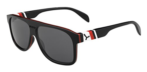 Cébé Sonnenbrille Chicago, Black/Red/Grey, CBCHIC2
