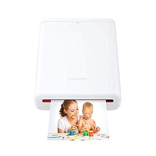 HUAWEI Photo Printer, Stampante Fotografica Istantanea Portatile, Accessorio Originale, Bianco, 5 x 7.6 cm