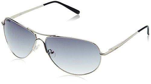 Fastrack Aviator Unisex Sunglasses - (M050BU7|64|Blue)