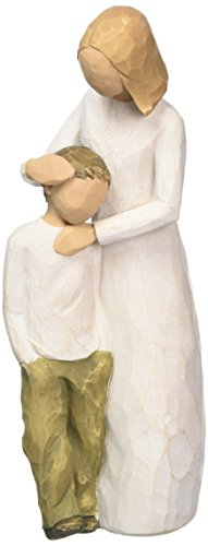 Willow Tree 26102 Figur Mutter und Sohn, 3,8 x 3,8 x 20,3 cm