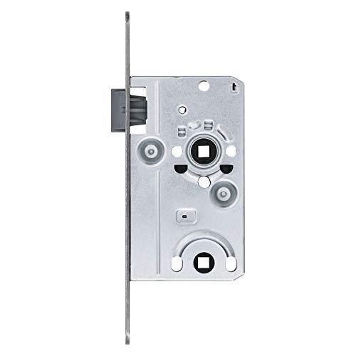 ABUS 208010 Tür-Einsteckschloss TKB10, hammerschlag-gold für DIN-rechts Türen