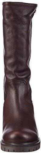 Panama Jack Patricia B1, Bottes d'équitation hautes à mi-mollet avec doublure chaude femme Marron - Marron