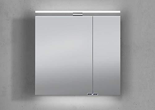 ▷ Bad Spiegelschrank mit Beleuchtung - Hochwertiger Spiegelschrank
