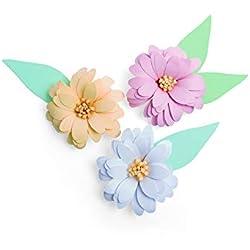 Sizzix 3D Daisy Fustella, Multicolore, taglia unica