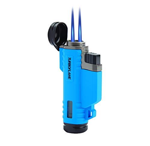 Turboflame Twin Flame Aqua Blue -