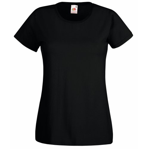Fruit of the Loom T-Shirt Medium Schwarz -