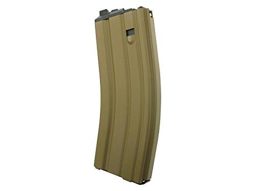 Magazin für WE Softair / Airsoft M4 Open Bolt GBB, fasst 30 BBs -TAN- (Gas Version) -