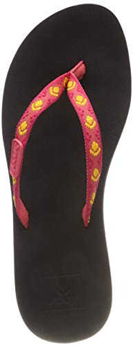 Reef Ginger, Infradito Donna, Rosa (Hot Pink/Yellow Hpy), 36 EU