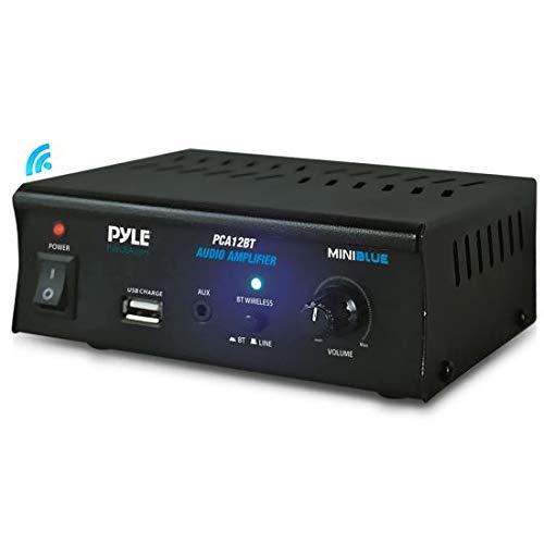 Pyle-Home PCA12BT.5_V0 Mini-Verstärker mit Bluetooth Ipod-mini-auto-docking-station