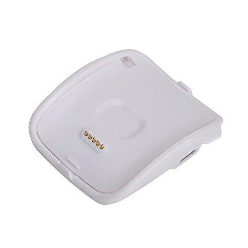 Gear S U215Ladegerät, R750efanr Ersatz-Ladegerät Wiege Charging Dock mit USB Kabel Ladekabel für Samsung Gear S U215Smart Watch R750 (Iphone 6 Solar-fall)