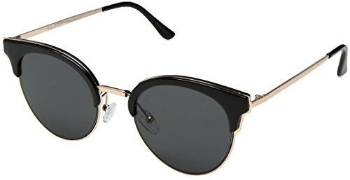 A.J. Morgan Women's Sheva Cateye Sunglasses, Black, 53 mm