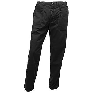 Regatta Men's Action Multi Pocket Walking Trousers - 38W x Regular - Black