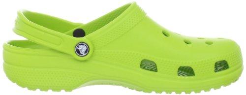 Crocs Adult Classic Clogs, Green (Volt Green), M6/W7