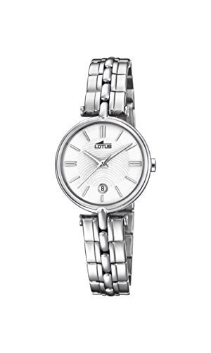 Lotus Watches Womens Analogue Classic Quartz Watch with Stainless Steel Strap 18456/1