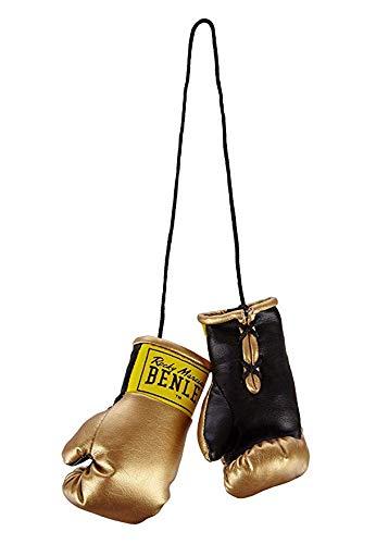 BENLEE Rocky Marciano Unisex- Erwachsene Mini Miniature Boxing Gloves, Gold, one Size