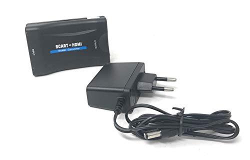 Temps de Solde Adaptateur convertisseur pour TV avec Prise Femelle péritel Composite à HDMI 1080p