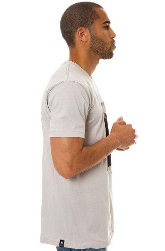 T-Shirt: American Spirits GR Grau