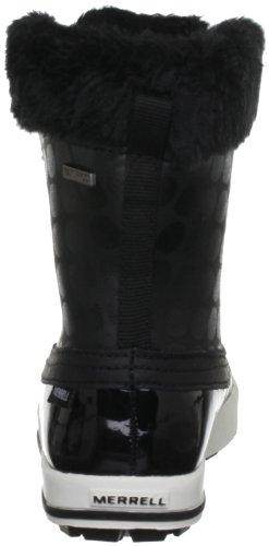 Merrell CHAM MID AC WTPF Mädchen Trekking & Wanderschuhe Noir (Black)