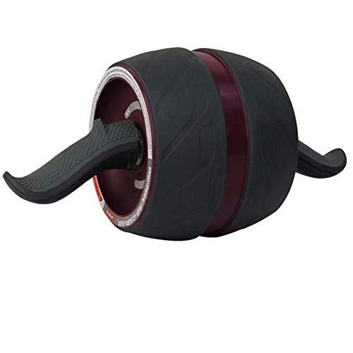 YUHAIJIE Addominale Esercizi di Allenamento Ruota a Rullo con Ginocchiera, Auto-Retrattile Addominale Workout AB Rullo per