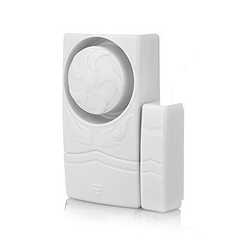 Wireless Mini Magnetic Home Security Tür Fenster Sensor Alarmanlage Laut 110 dB (Home-alarm Wireless)