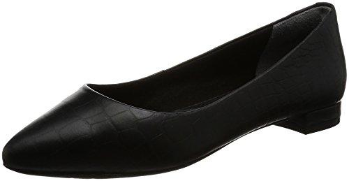 rockport-damen-adelyn-ballet-geschlossene-ballerinas-schwarz-black-croco-36-eu