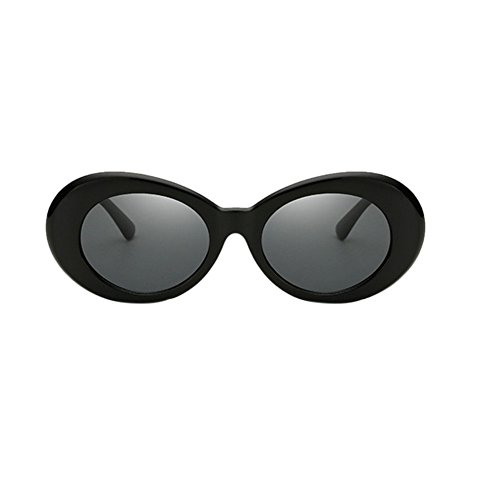 Yefree Ovale Sonnenbrille Mod Style Retro Dicken Rahmen Fashion Eyewear - 9 Farbauswahl