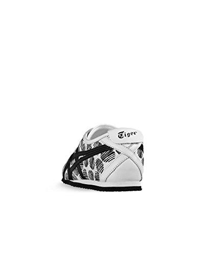 ASICS Mexico 66 D620n-0190-10, Unisex-Erwachsene Sneakers Weiß
