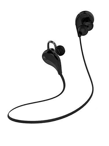 Renewed  SoundPEATS Qy7 Bluetooth 4.0 Wireless Sports Headset with Mic  SoundPEATS Black Qy7 Bluetooth 4.0 Wireless Sports Headset with Mic