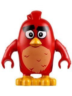 LEGO The Angry Birds Movie Minifigure - Red Bird (75822) by LEGO