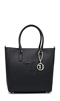 Trussardi Jeans Ischia Shopping bag Ecoleither Black