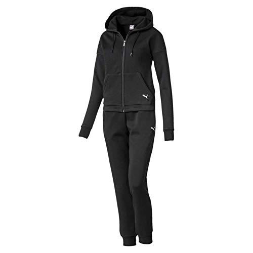 PUMA Damen Classic Hd. Sweat Suit, cl Trainingsanzug, Black, M