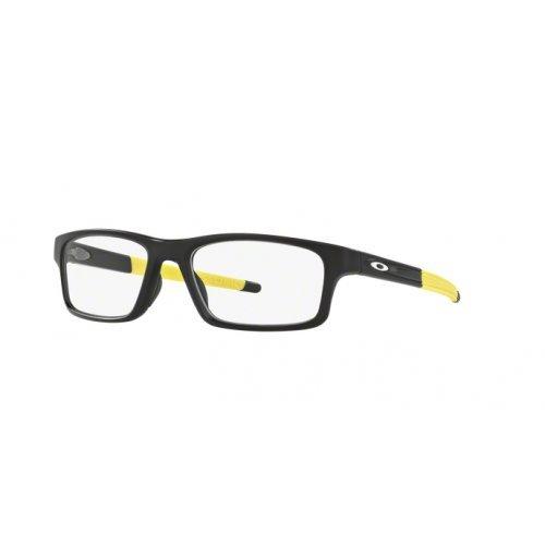 Oakley - CROSSLINK PITCH OX 8037, Rechteckig, Propionat, Herrenbrillen, SATIN BLACK YELLOW(8037-19), 54/18/135