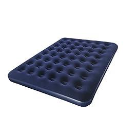 Bestway – Materasso singolo floccato, 185,4x 78,7x 22,9cm, colore: azzurro