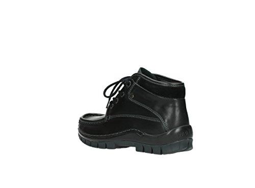 Wolky Schnürschuhe 4728 Cross Winter 200 schwarz Leder