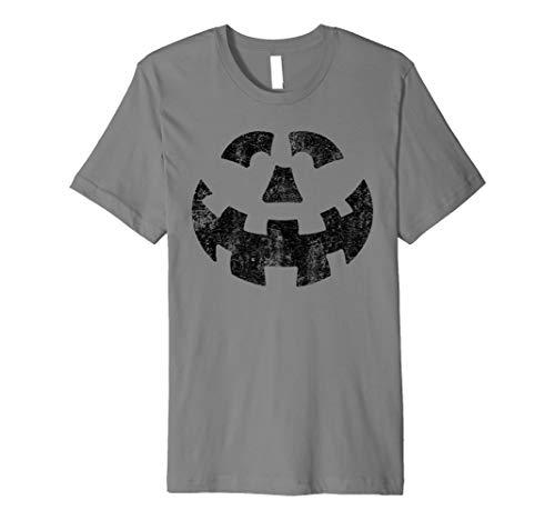 Jack O 'Lantern T-Shirt Scary Kürbis Gesicht -
