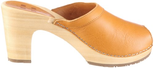Swissoccoli Holzsandalette 2087, Chaussures femme Marron-TR-C5-7