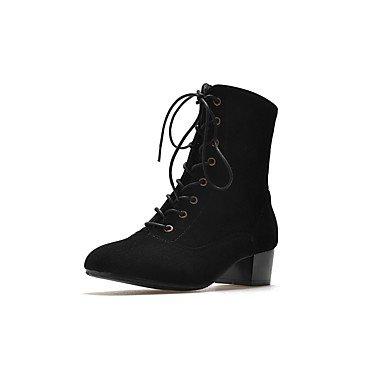Confortable Velouté Desy Automne Hiver Chaussures Cheville Femmes wS8xXv4